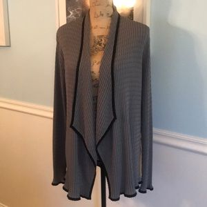 Beautiful gray & black/made by grace knit dressing